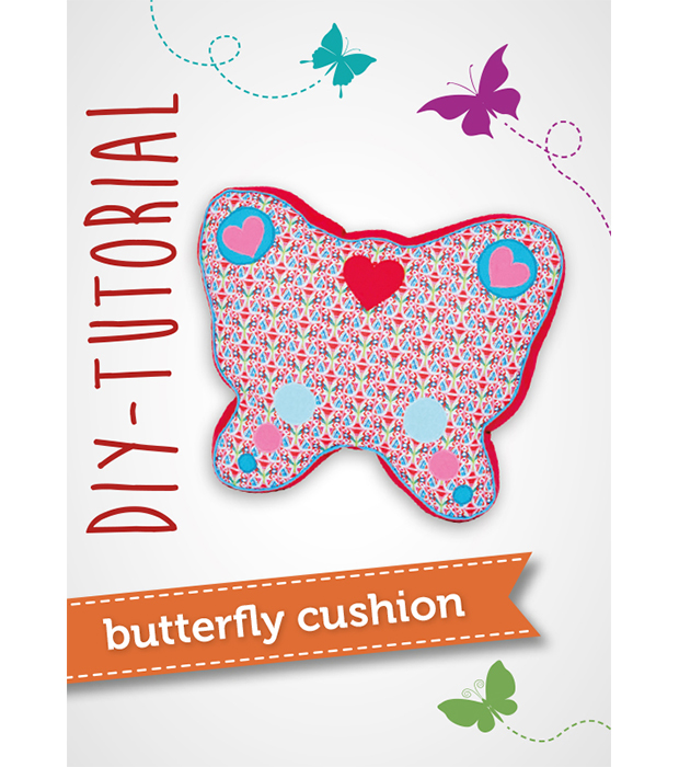 Free pattern and tutorial: Butterfly cushion | pattydoo