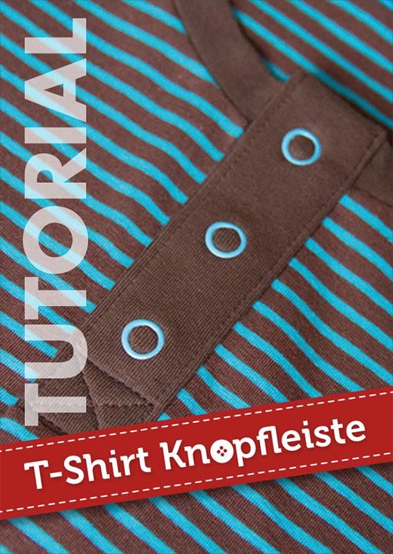 Wie nähe ich eine Knopfleiste in ein T-Shirt? | Pattydoo