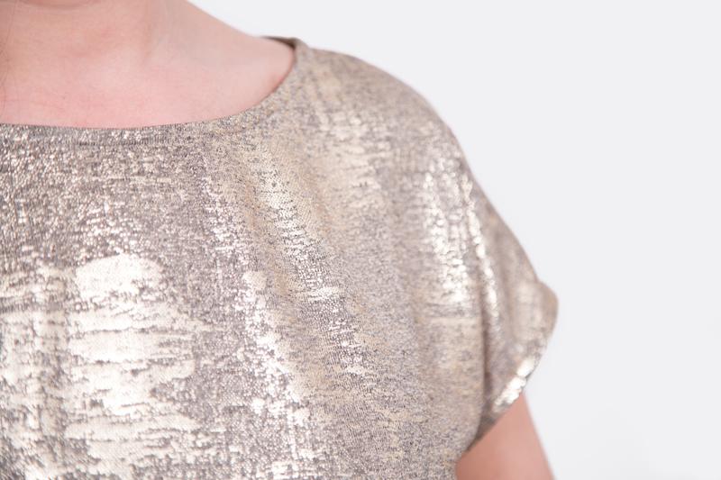 Damenshirt Ausschnitt nähen elegant