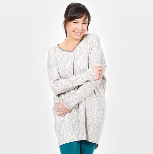 pattydoo oversized shirt sewing pattern