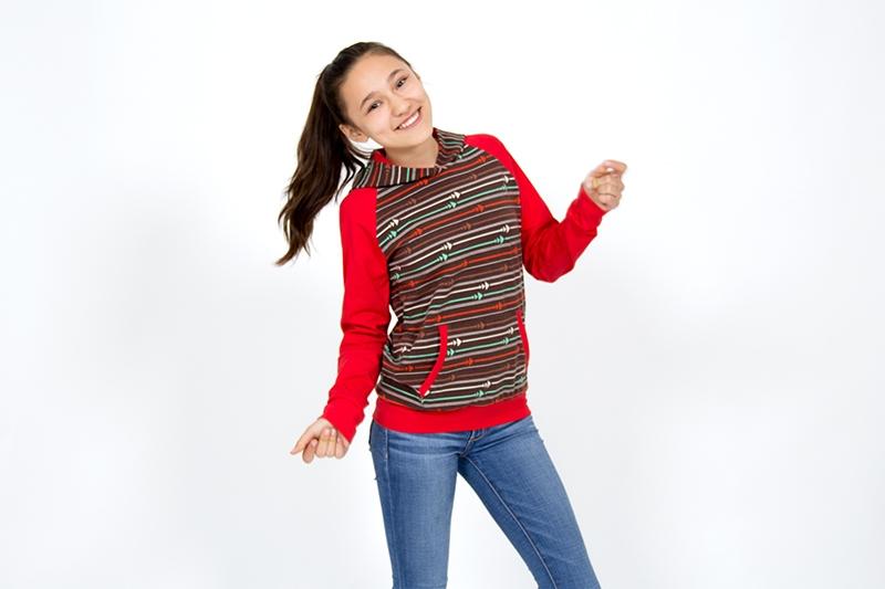 Shirt Mädchen Teenie nähen