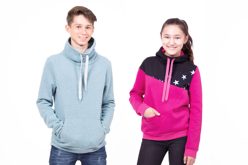Kapuzenpullover für Teens nähen | pattydoo Nähblog
