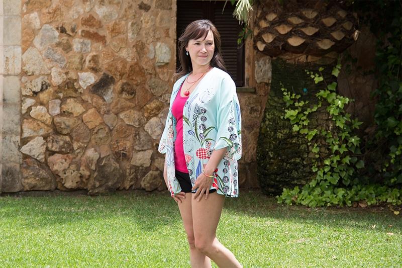 Kimono Viskose Gewebe nähen