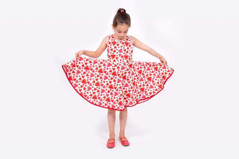 Kinderkleid Anleitung | pattydoo Nähblog