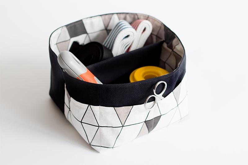 kostenloses schnittmuster utensilo aus stoff mit n hvideo pattydoo. Black Bedroom Furniture Sets. Home Design Ideas