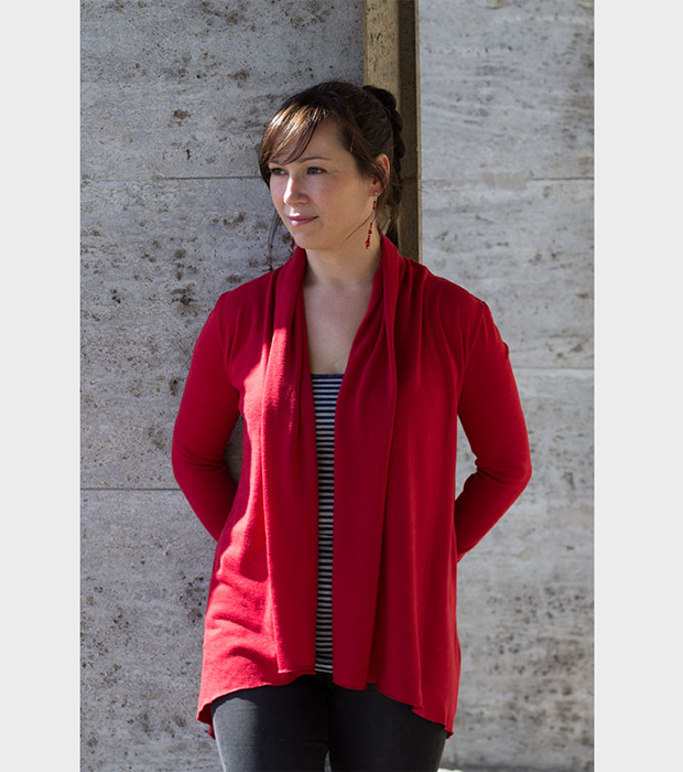 sewing pattern jersey cardigan sew it yourself DIY