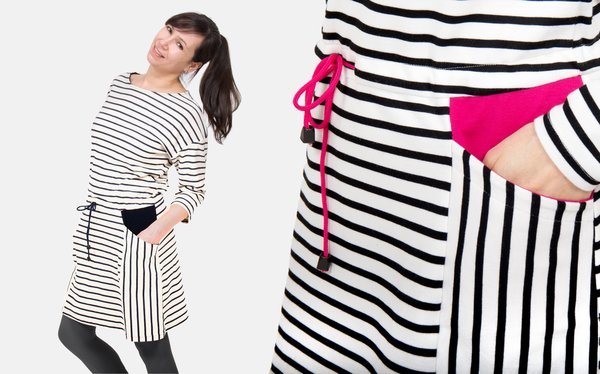 sewing pattern sweat dress