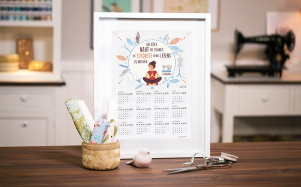 pattydoo Nähkalender 2018 Freebie Gratis Download