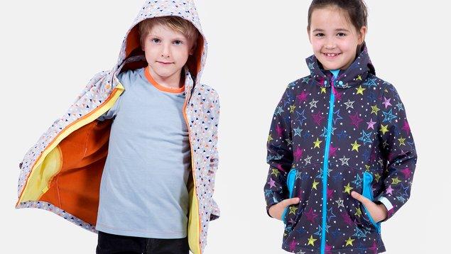 Softshelljacke für Kinder & Jugendliche nähen | Pattydoo