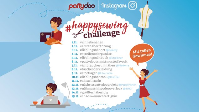 happy sewing challenge