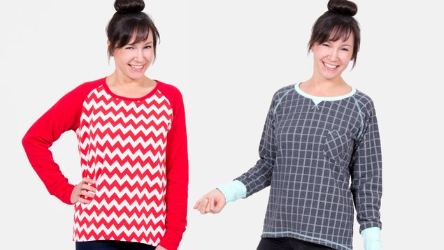 Schnittmuster Sweatshirt | Pattydoo
