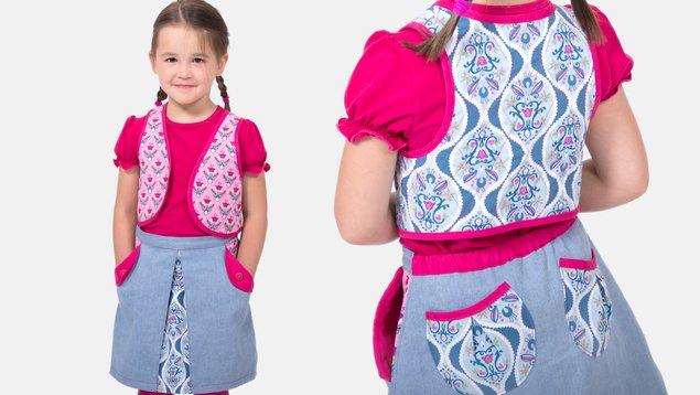 timeless design e5d76 58903 Steppweste für Kinder nähen | PATTYDOO