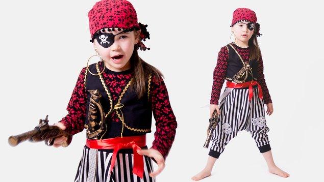 Faschingskostum Piratenweste Nahen Pattydoo