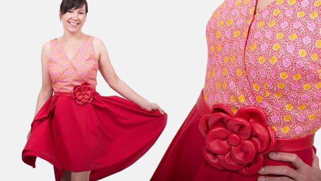 MMM: Flora Dress | Pattydoo