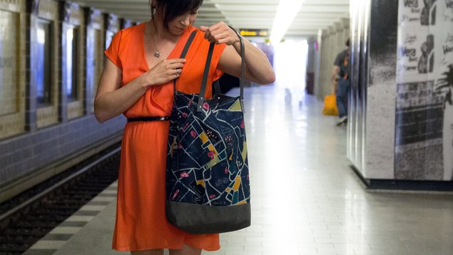 Schnittmuster Shopper Berlin-Design