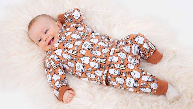 Wickeljacke & Hose für Babies nähen | Pattydoo