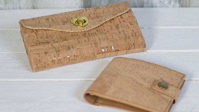 Geldbörsen aus Kork | Pattydoo