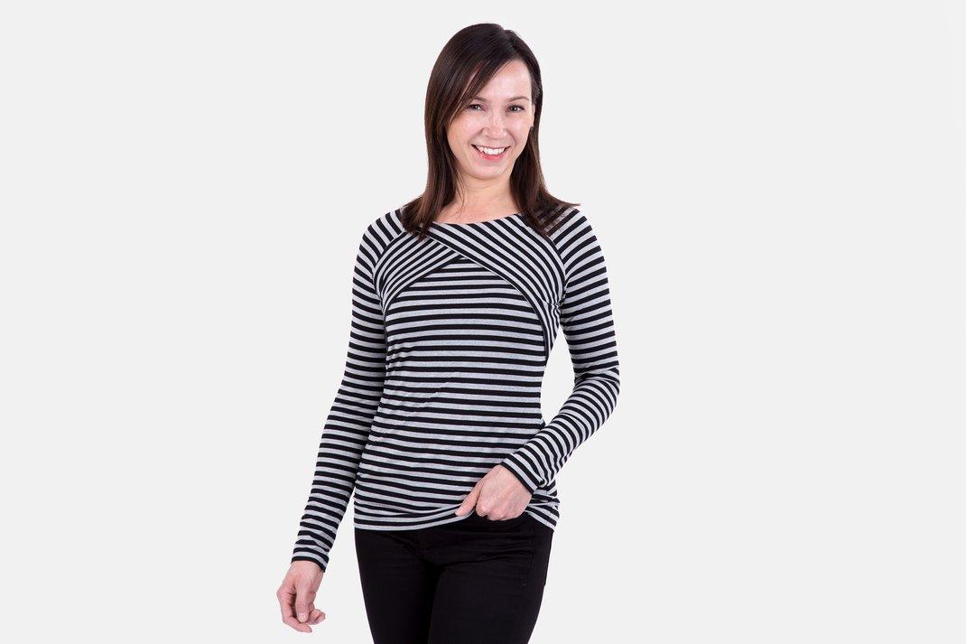 Anleitung Damenshirt und Kleid mit Raglanärmeln | pattydoo