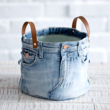 Kostenlose Nähanleitung - Jeans Upcycling