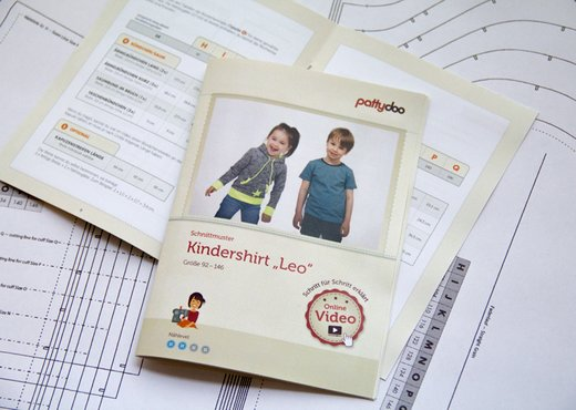 Kindershirt Leo Booklet