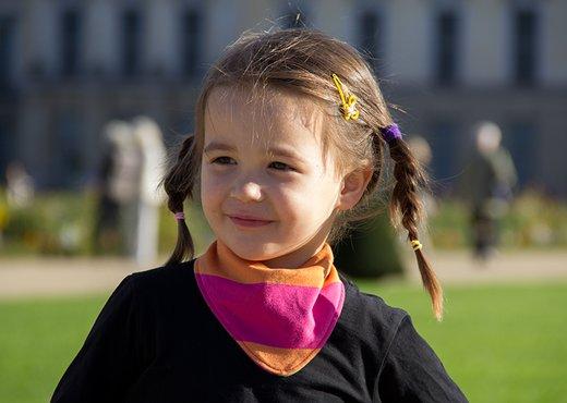 Ein Halstuch für Kinder nähen | Pattydoo