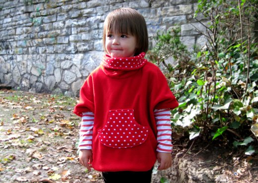 "Schnittmuster gratis Kinderponcho ""Cosy Cape"""