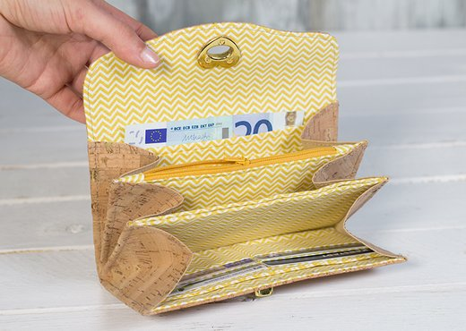 Geldbörsen aus Kork   pattydoo