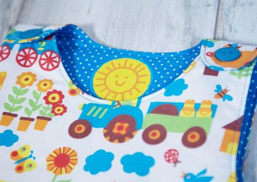 Baby-Schlafsack nähen | pattydoo