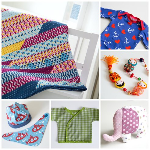 Nähideen für Babies - sewing gifts for babies