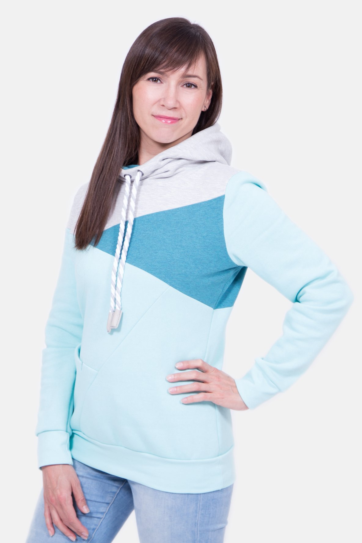 Schnittmuster Freestyle Hoodie Nelly