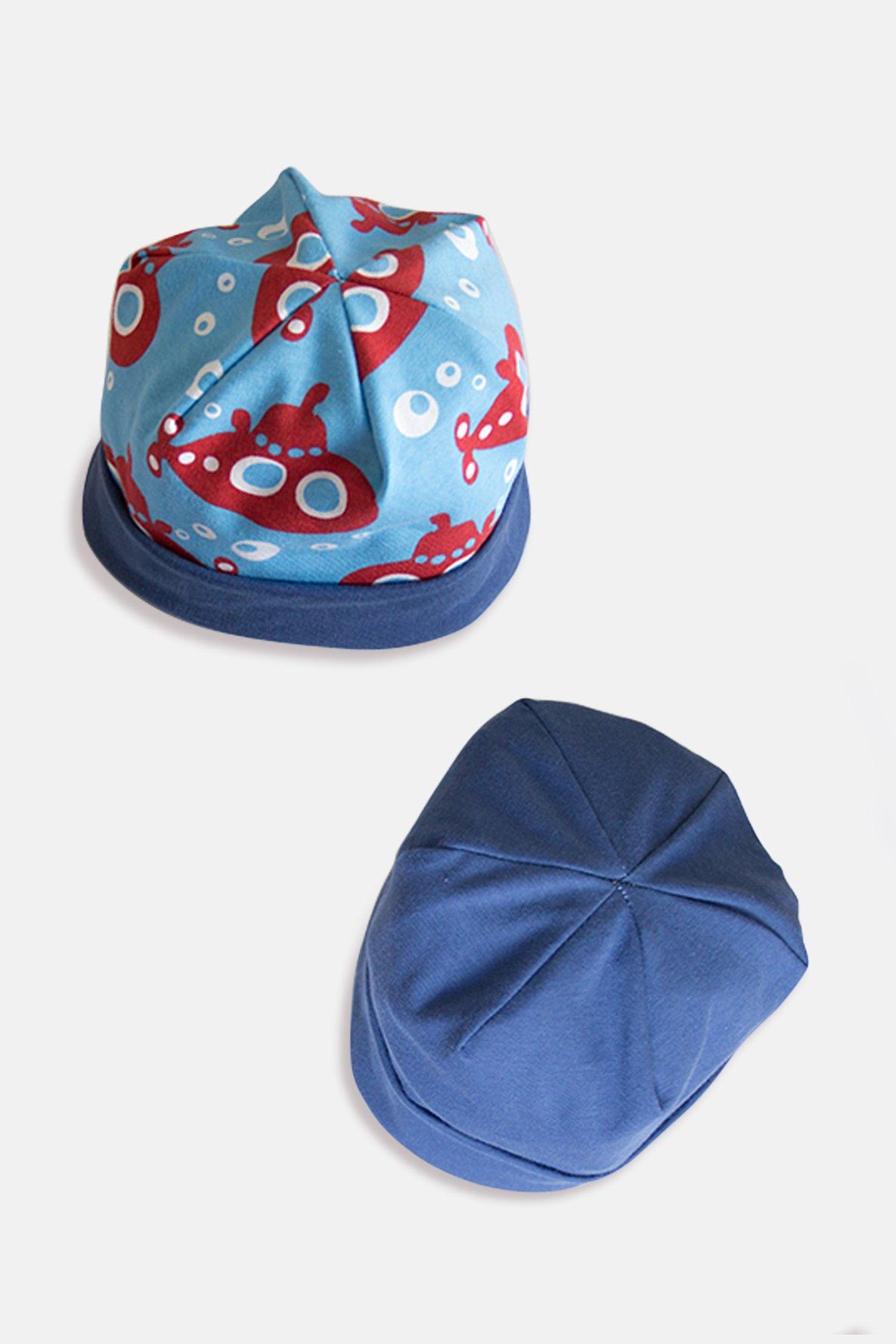 Patron de couture gratuit Chapeau réversible pour enfants