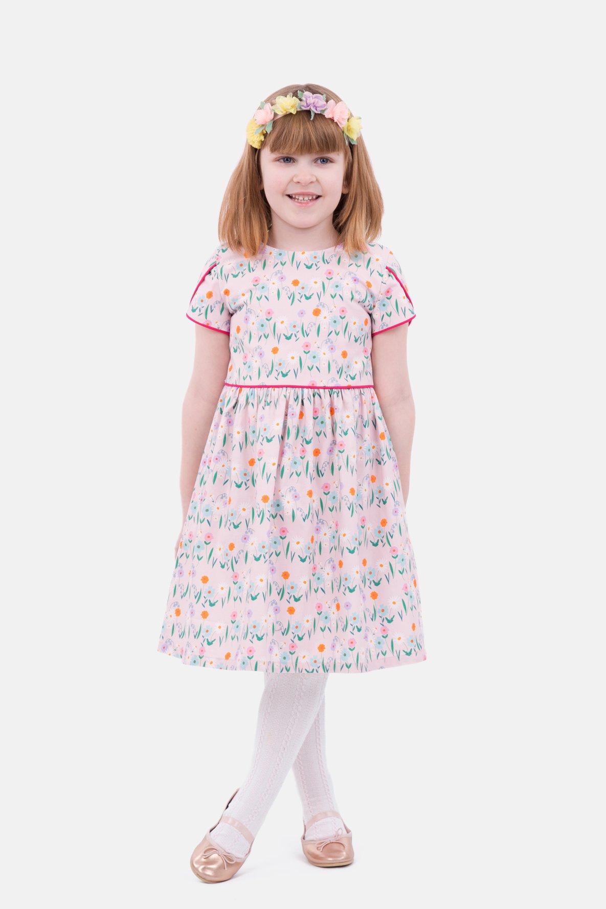 Schnittmuster für das Kinderkleid