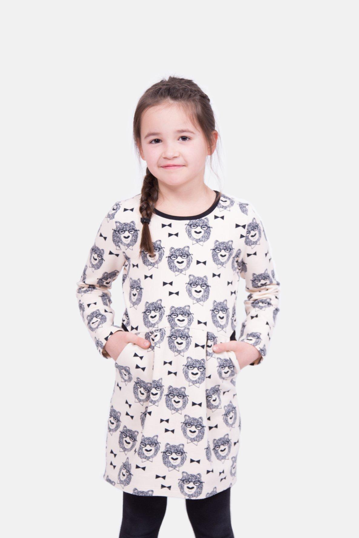 zeitloses Design im Angebot groß auswahl Schnittmuster für das süße Kinderkleid