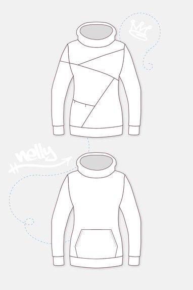 Oversize-Pullover in vielen Varianten nähen | Pattydoo