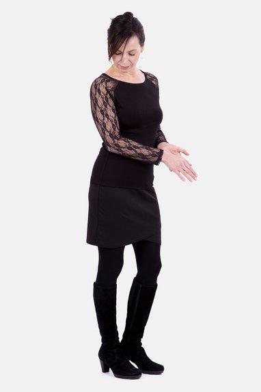 cb57a11f0885 Schnittmuster Raglanshirt   Kleid
