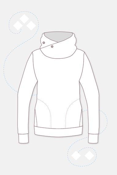 Tolle Schnittmuster für Sweatshirts & Kapuzenpullover | PATTYDOO