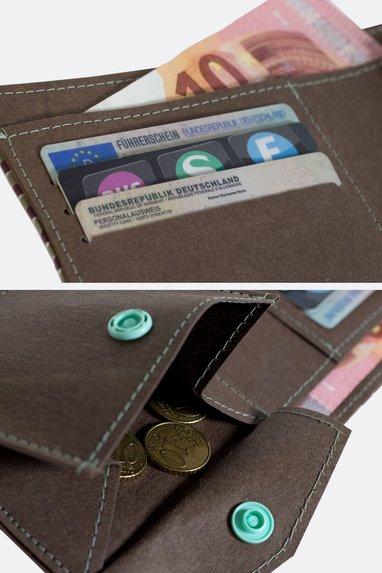 Schnittmuster Geldbörse SnapPap Geldbörse