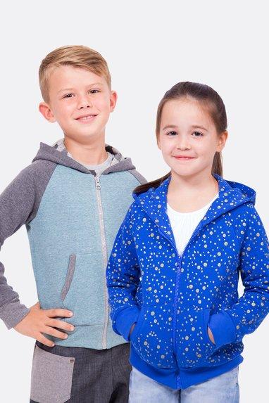 Kapuzenjacken für Kinder und Teens nähen | Pattydoo