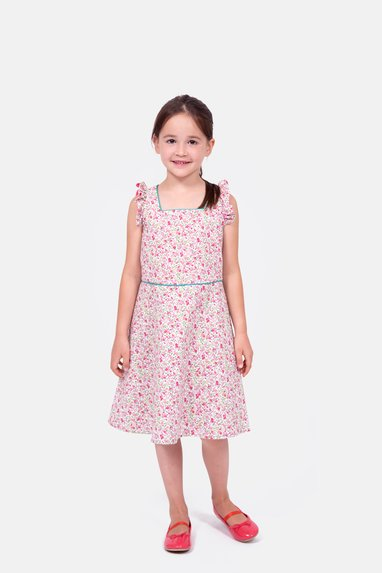 Schnittmuster Kinderkleid Leni