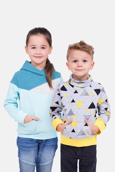 Schnittmuster Kinder Freestyle Hoodie Luca