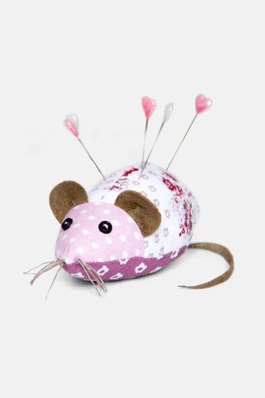 Nähanleitung Nadelkissen Mäuschen | Pattydoo