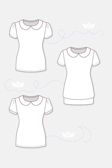 T-Shirt für Sport und Freizeit selber nähen | pattydoo Nähblog