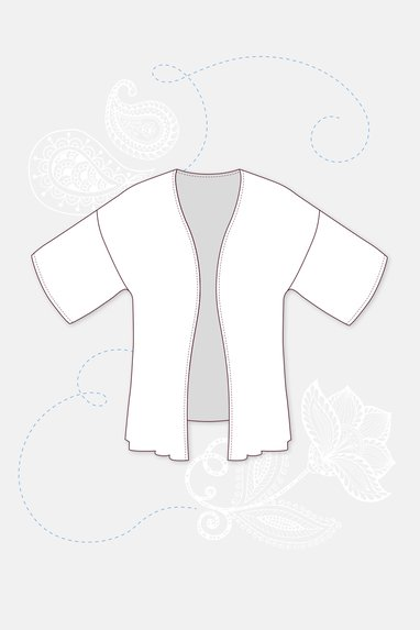 Schnittmuster Kimono Kylie