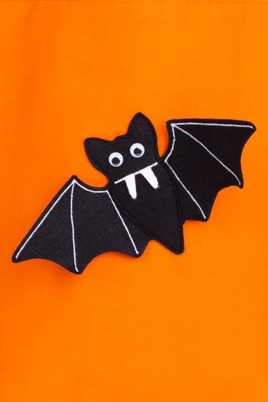Halloween Applikation Fledermaus Vorlage