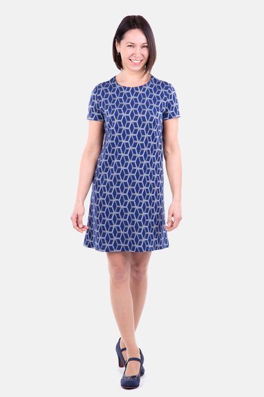 Kleid a linie kostenloses schnittmuster Kinderkleid in