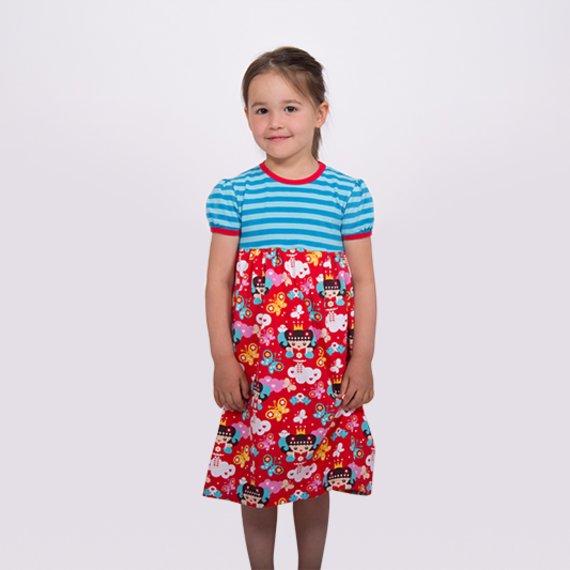 Langarm Kleid Nähen Kind  Atlanta 2021