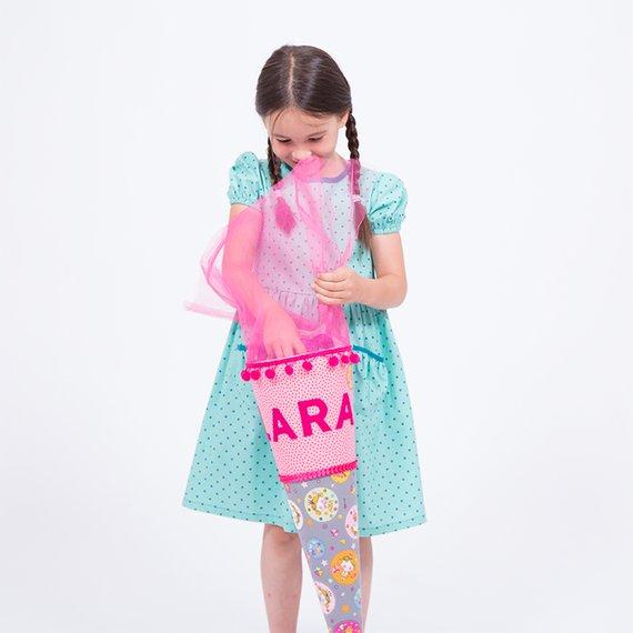 Eine Schultüte Mit Applikationen Nähen Pattydoo