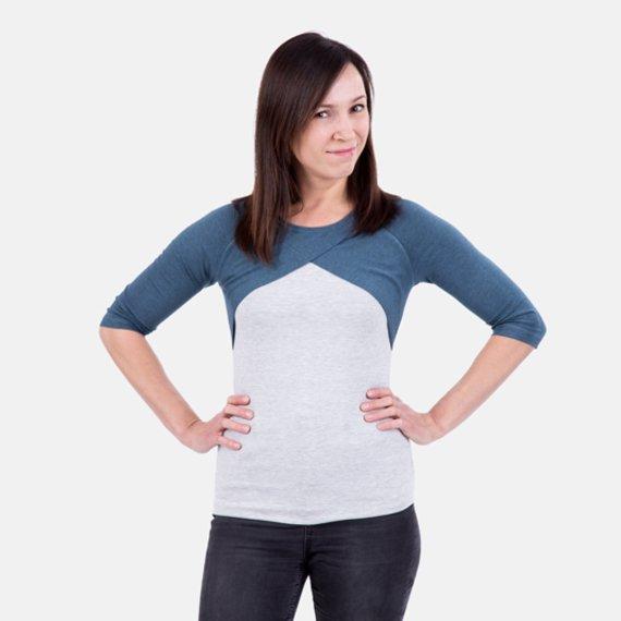 8e2a030891a5 Anleitung Damenshirt und Kleid mit Raglanärmeln   pattydoo