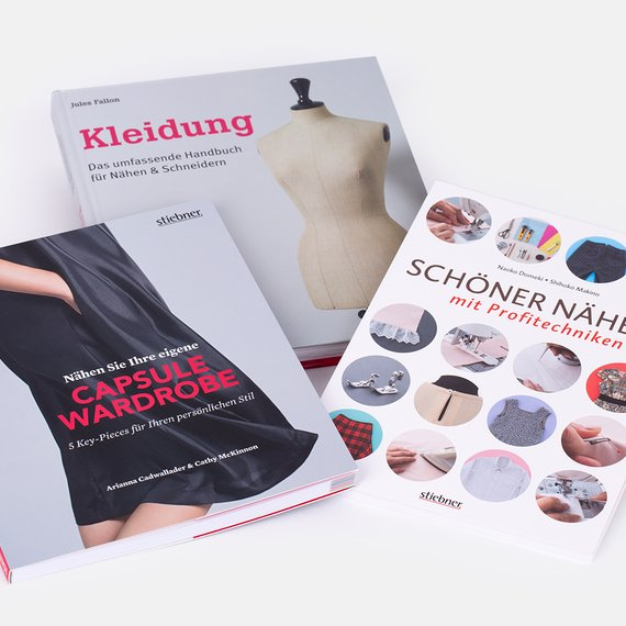 happy sewing Challenge Gewinn Stiebner Bücher