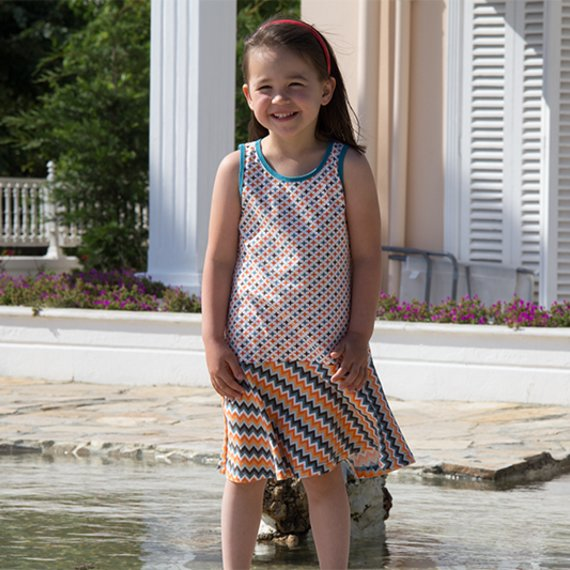 sewing pattern kids dress